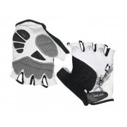 Guanti bici XLC nero/bianco