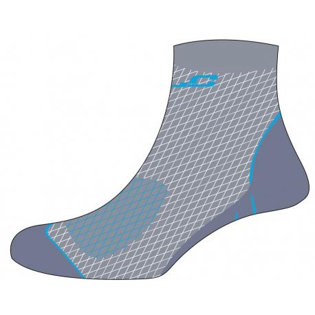 Calze Merino MTB XLC CS-L01 grigio/blu