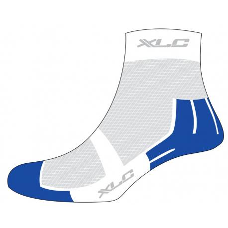 Calze MTB Coolmax XLC CS-C02 bianco/blu