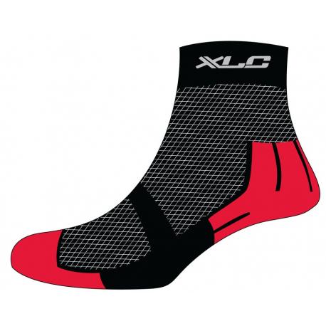 Calze MTB Coolmax XLC CS-C02 nero/rosso