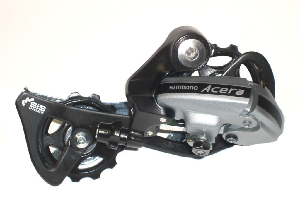 Der posteriore Acera argento RD-M 360 senza Adattatore, 7-8 vel.