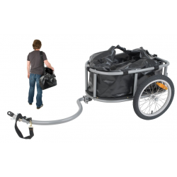 Monz Travel Transport Trailer con borsa impermeabile