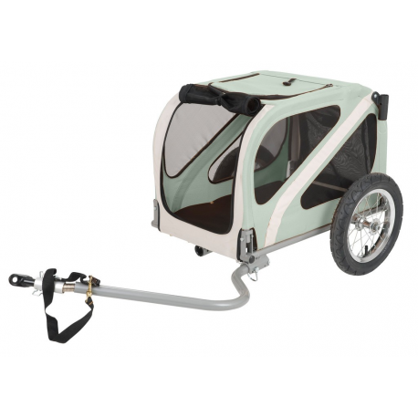 """Rimorchio bici Dog Mini 12"""" per montaggio su asse"""
