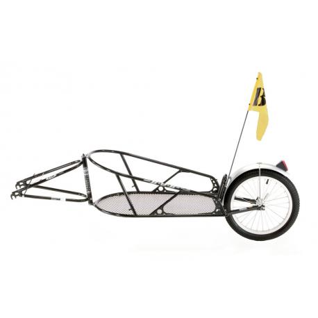 """Rimorchio per bici BOB Yak per 28"""" ATB TR0503 nero, incl. SSP"""