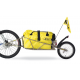 """Rimorchio per bici BOB Ibex per 28"""" ATB TR0308 oro, incl. SSP e borsa BOB"""