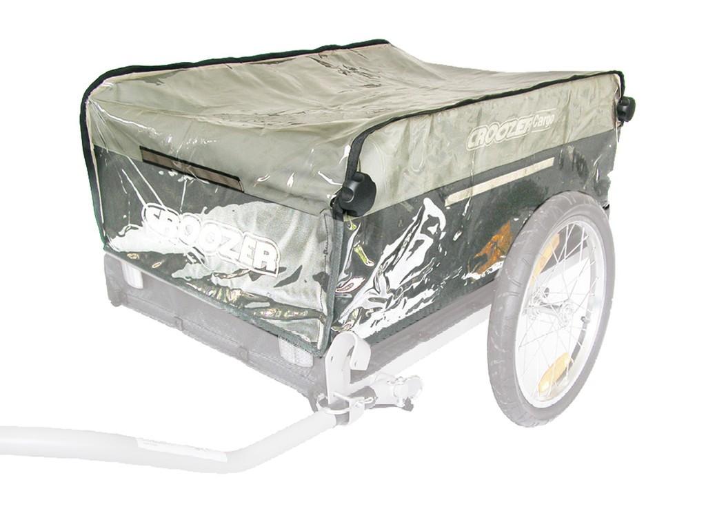 Rain cover PVC per Croozer Cargo