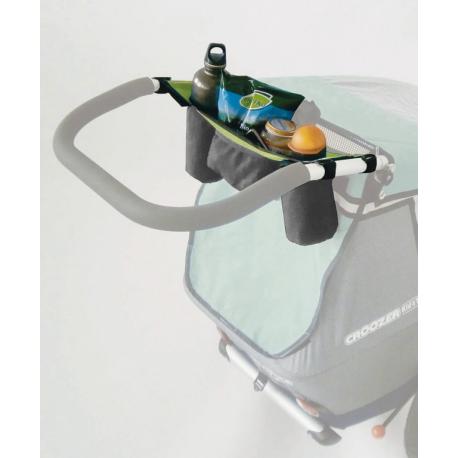 Portaborraccia per rimorchi bimbi per Croozer Kid for 2 verde dal 2013