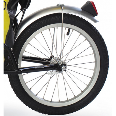 Ruota BOB IBEX con pneumatici e sgancio rapido