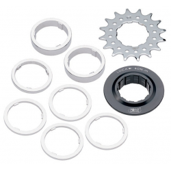 Pignoni Single Speed / Set distanziali 14 denti