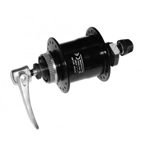 VR dinamo mozzo Shimano DH-S701 100mm, 32 denti, nero, SNSP