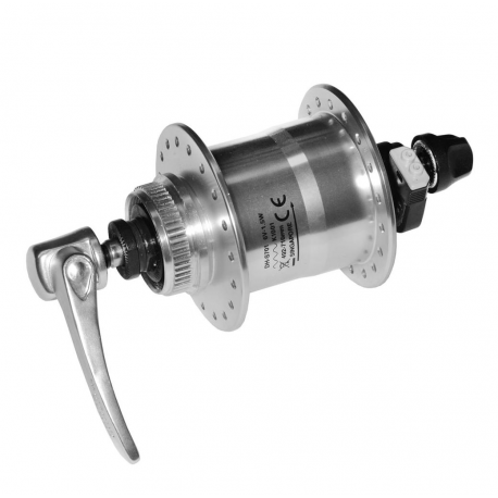 VR dinamo mozzo Shimano DH-S701 100mm, 36 denti, argento, SNSP