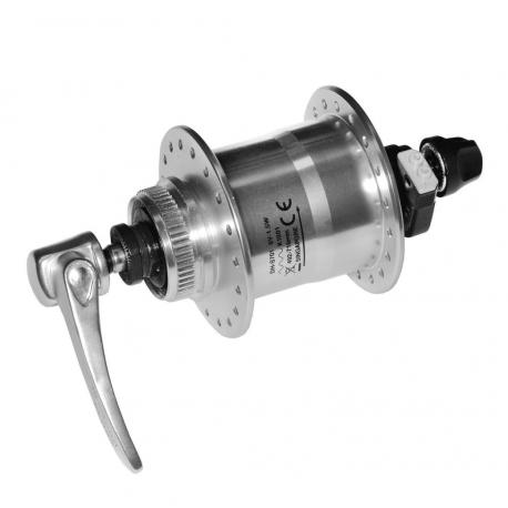 VR dinamo mozzo Shimano DH-S701 100mm, 32 denti, argento, SNSP