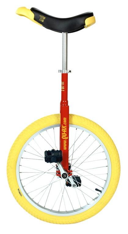 "Monociclo QU-AX Luxus 20"" 406 mm, Rosso"