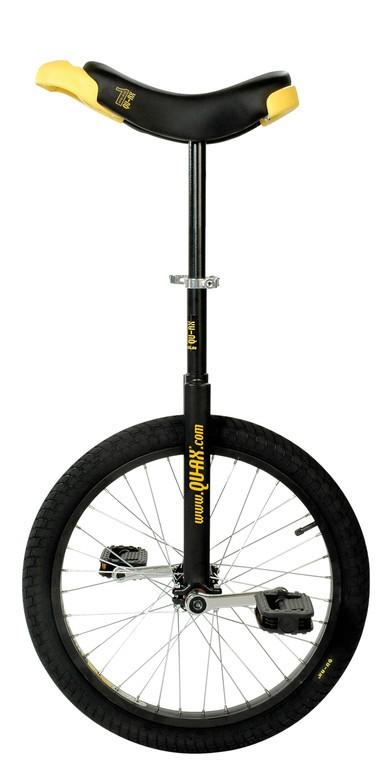 """Monociclo QU-AX Luxus 20"""" 406 mm, Nero"""