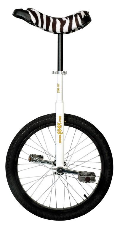 "Monociclo QU-AX Luxus 20"" 406 mm, Bianco"