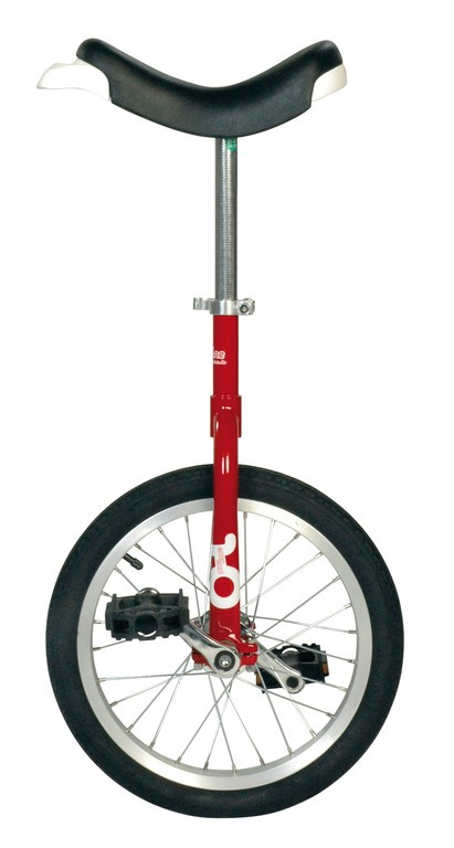 "Monociclo OnlyOne 16"" 305 mm, rosso"