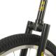 """Monociclo QU-AX 20"""" Luxus nero 1103 con cerchio in allum. ruota, nero"""