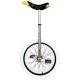 "Monociclo QU-AX Muni Starter 20"" nero cerchio d'allum., copertone nero"