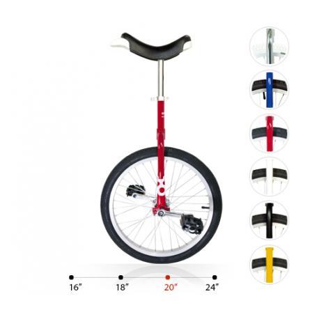"""Monociclo OnlyOne 20"""" rosso 19004 c.cerchione in alluminio"""