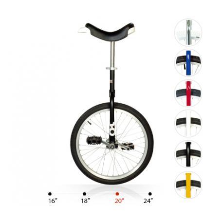 """Monociclo OnlyOne 20"""" nero 19782 c.cerchione in alluminio"""