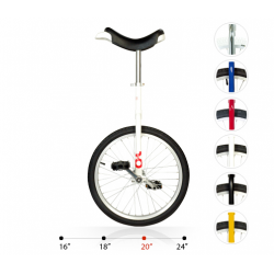 "Monociclo OnlyOne 20"" 406 mm, Bianco"