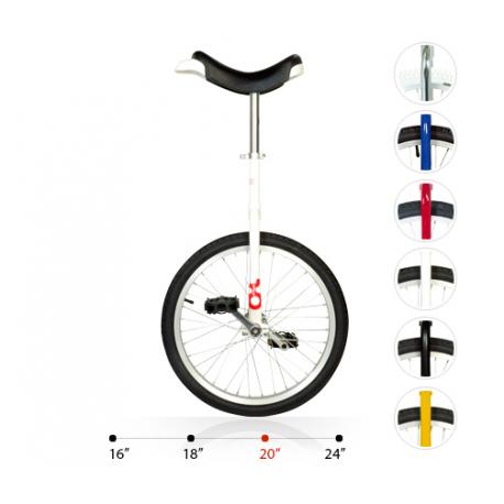 """Monociclo OnlyOne 20"""" bianco 19790 c.cerchione in alluminio"""
