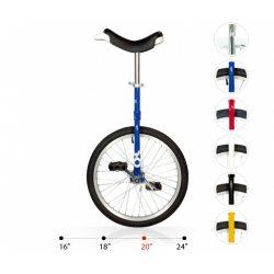 "Monociclo OnlyOne 20"" 406 mm, Blu"