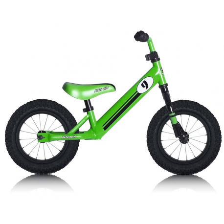 "Bici bambino Rebel Kidz 12,5"" Air acciaio, racing verde"