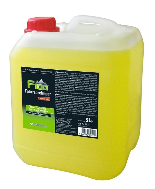 Detergente bici F100 tanica da 5 litri