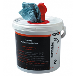 Polytex Wiper Bowl fazzoletti umidificati, dispenser 72 fazzoletti