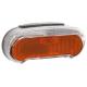 Luce posteriore per portapacchi con LED Basta Riff Steady,80 mm