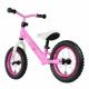 "Bici bambino Rebel Kidz 12,5"" Air acciaio, farfalle fucsia"