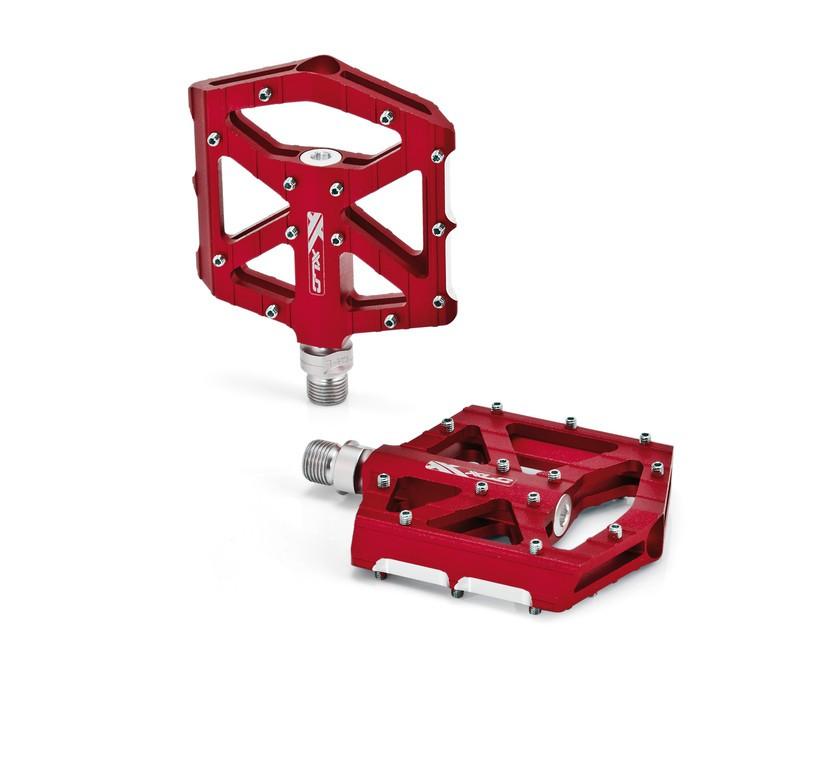 Coppia pedali XLC BMX/Freeride PM-M12 rosso