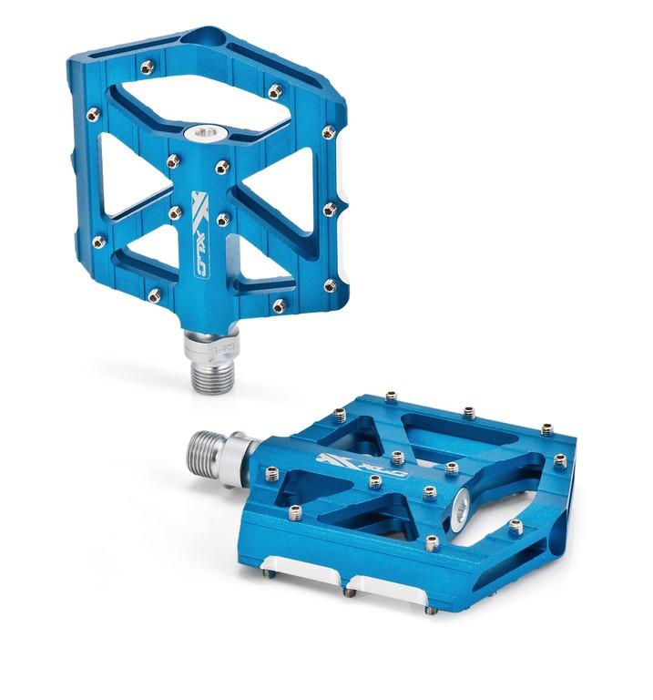 Coppia pedali XLC BMX/Freeride PM-M12 azzurro