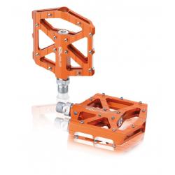 Coppia pedali XLC BMX/Freeride PM-M12 arancio