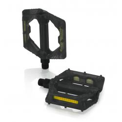 Coppia pedali XLC PD-M16 nero trasparente