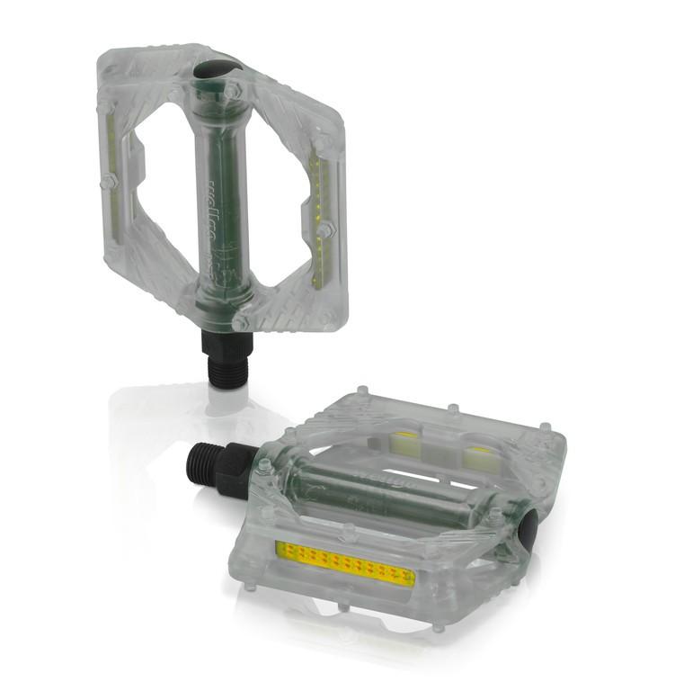 Coppia pedali XLC PD-M16 trasparente