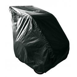 Garage pieghev per rimorchi Croozer per Croozer 2013,retrocompatib, nero