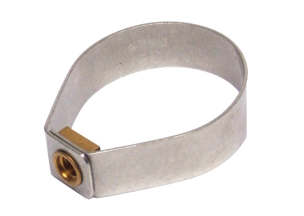Klickfix Collare per estensore nero, 32-36 mm