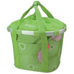 Klickfix City Bikebasket verde lime