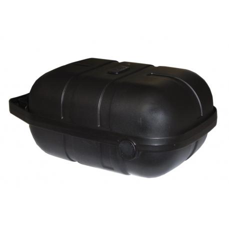valigia per bici per porta-bagagli sistema Pletscher