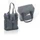 XLC Borsa shopping 'Community Line' slade grey, 32x13x36cm, 15ltr