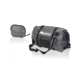 XLC borsa sportiva ripiegabile BA-W24 Nero/grafite, impermeabile