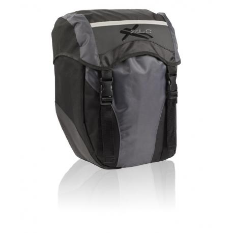 Set borse singole XLC BA-S40 nero/antracite