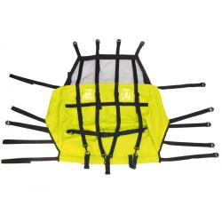 Coprisedile di ricambio per rimorchio bambino XLC Duo limone