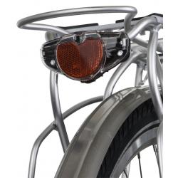 Luce posteriore Axa Spark Steady, 80 mm per portapacchi, con luce di posizione