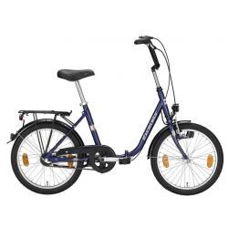 "Excelsior bici pieghevole 20"" True Blue 1V contropedale"